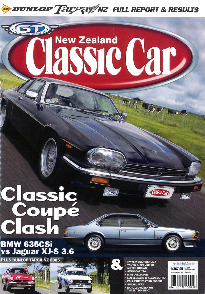 New Zealand Classic Car 180, December 2005