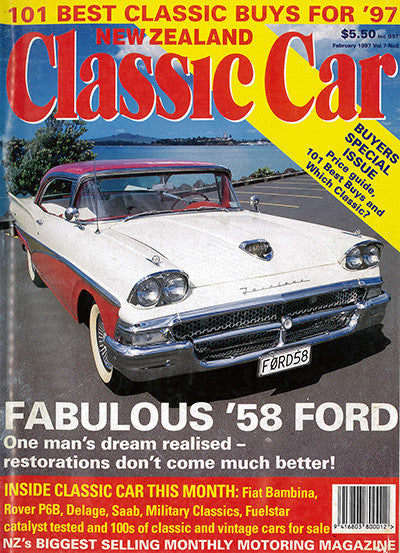 New Zealand Classic Car 74, February 1997
