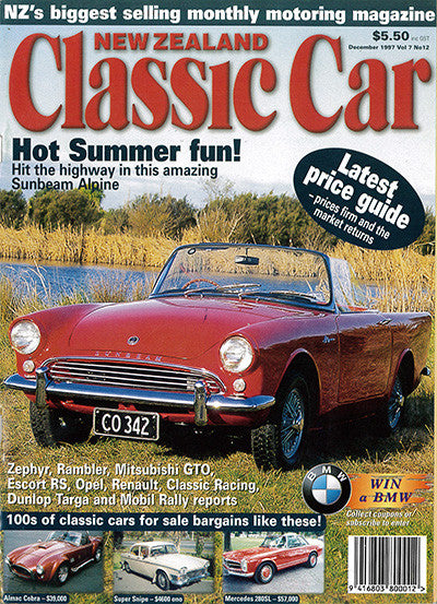 New Zealand Classic Car 84, December 1997