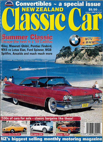 New Zealand Classic Car 85, January 1998