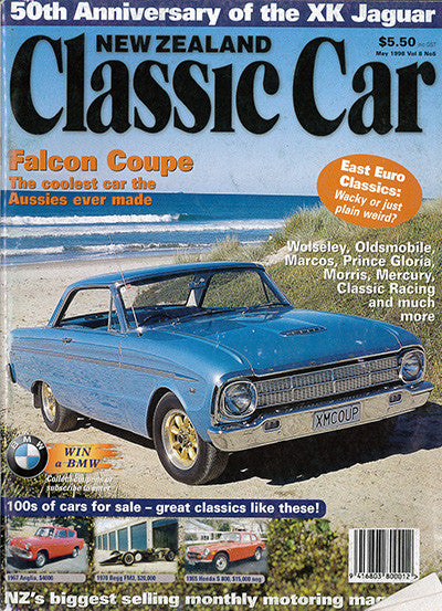 New Zealand Classic Car 89, May 1998