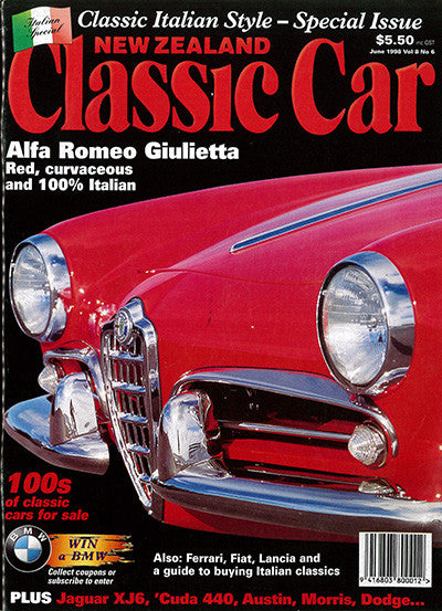 New Zealand Classic Car 90, June 1998