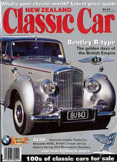 New Zealand Classic Car 91, July 1998