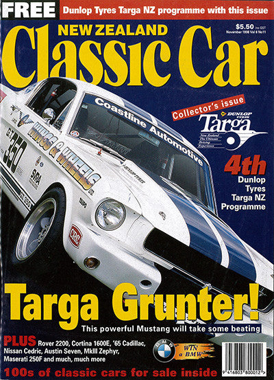 New Zealand Classic Car 95, November 1998
