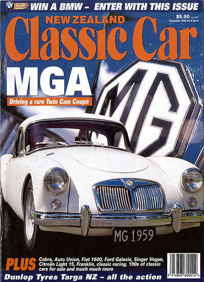 New Zealand Classic Car 96, December 1998