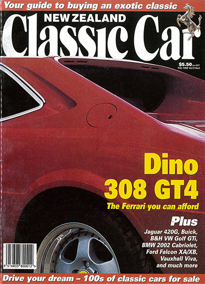 New Zealand Classic Car 98, February 1999
