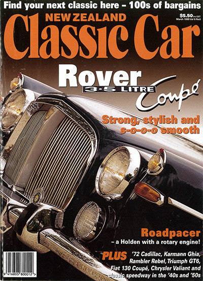 New Zealand Classic Car 99, March 1999