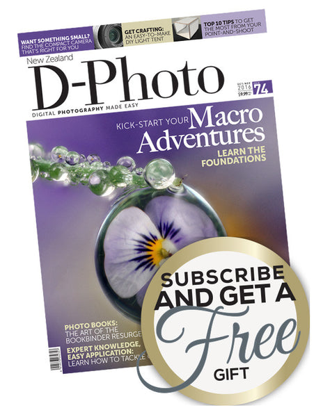 D-Photo magazine Christmas offer