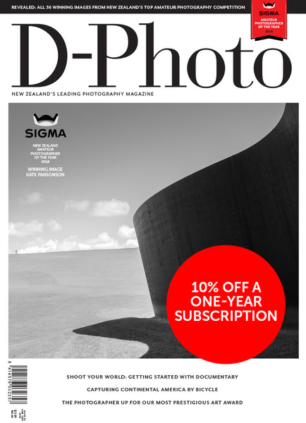 Subscription to D-Photo magazine Father's Day deal