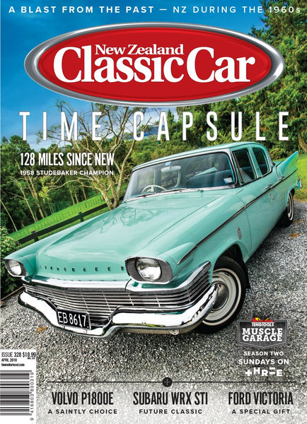 New Zealand Classic Car 328, April 2018