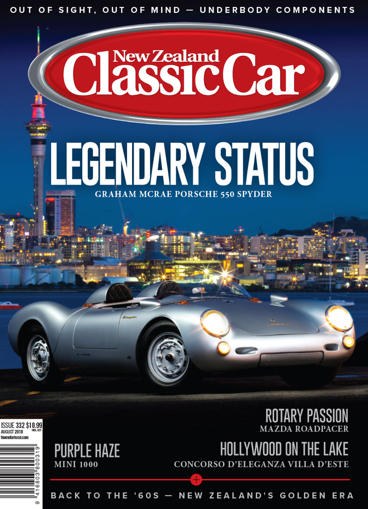 New Zealand Classic Car 332, August 2018