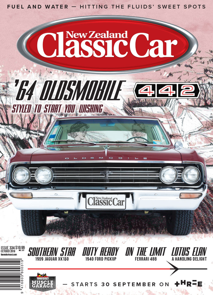 New Zealand Classic Car 334, October 2018