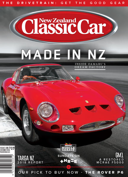 New Zealand Classic Car 336, December 2018