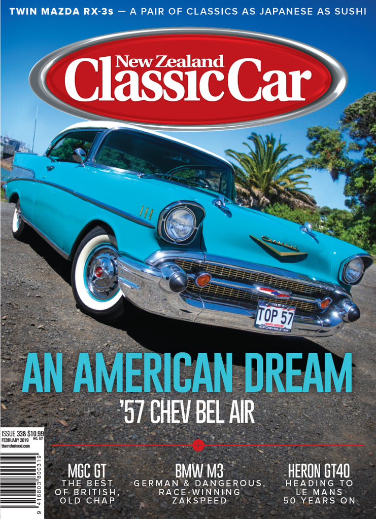 New Zealand Classic Car 338, February 2019