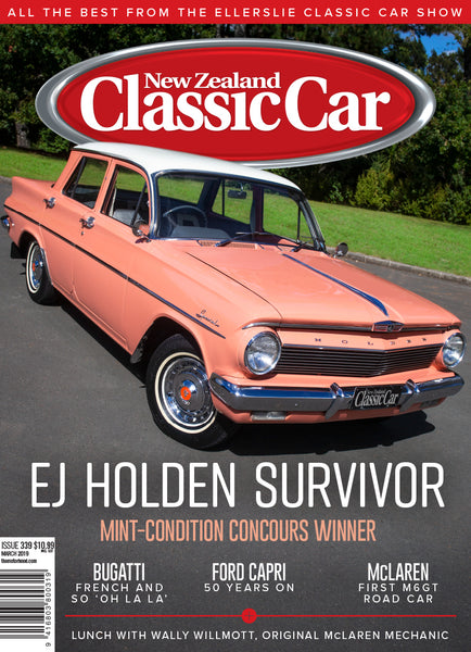 New Zealand Classic Car 339, March 2019
