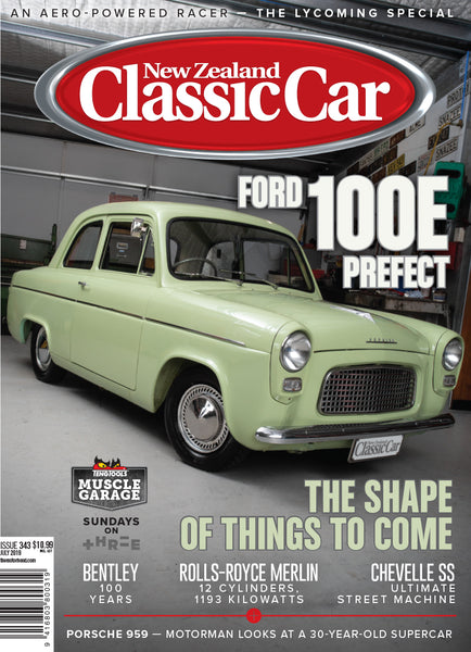 New Zealand Classic Car 343, July 2019