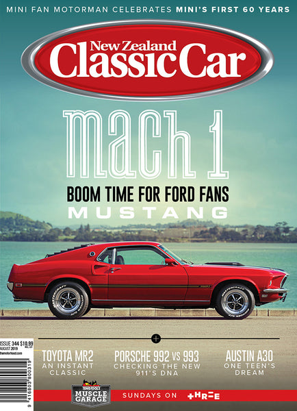 New Zealand Classic Car 344, August 2019