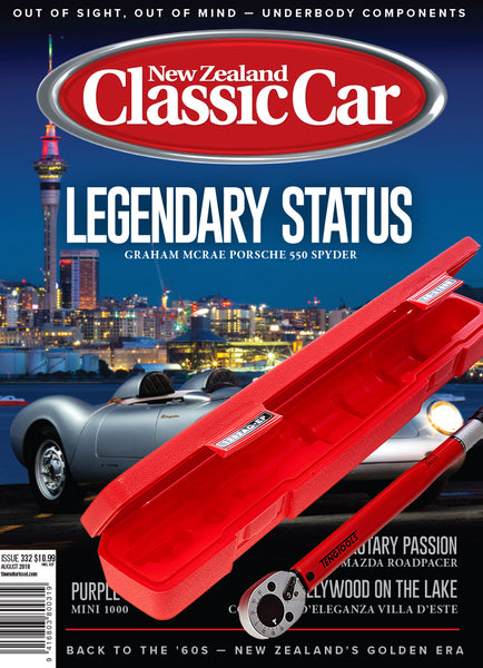 Subscription to New Zealand Classic Car magazine Father's Day bundle