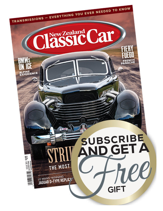 New Zealand Classic Car magazine Christmas offer - MagStore.nz