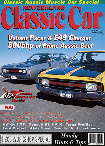 New Zealand Classic Car 106, October 1999