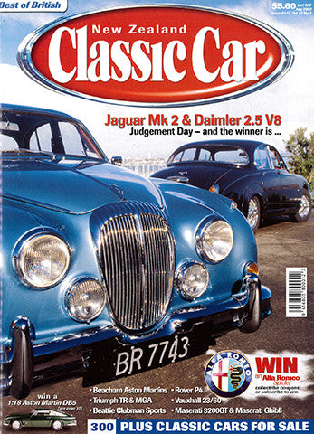 New Zealand Classic Car 115, July 2000