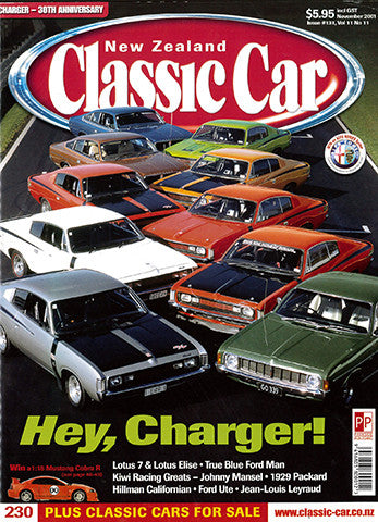 New Zealand Classic Car 131, November 2001