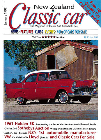 New Zealand Classic Car 13, January 1992