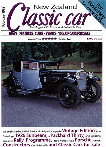 New Zealand Classic Car 14, February 1992