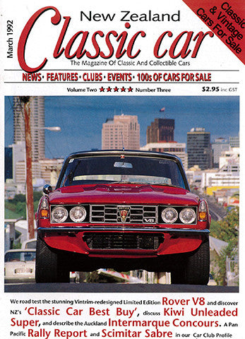 New Zealand Classic Car 15, March 1992