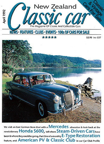 New Zealand Classic Car 16, April 1992