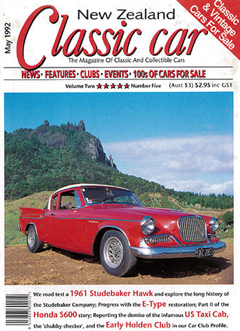 New Zealand Classic Car 17, May 1992
