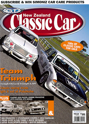 New Zealand Classic Car 188, August 2006