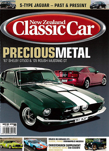 New Zealand Classic Car 189, September 2006