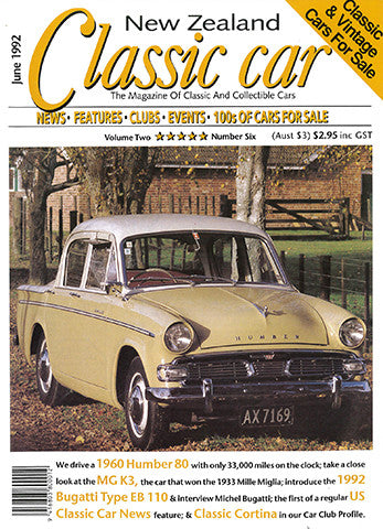 New Zealand Classic Car 18, June 1992