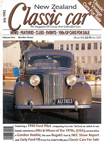 New Zealand Classic Car 19, July 1992