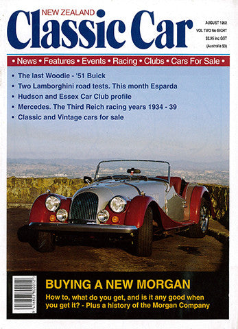 New Zealand Classic Car 20, August 1992
