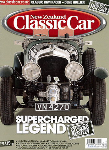 New Zealand Classic Car 211, July 2008