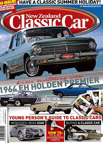 New Zealand Classic Car 229, January 2010