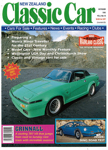 New Zealand Classic Car 22, October 1992