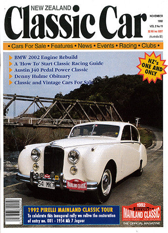 New Zealand Classic Car 23, November 1992