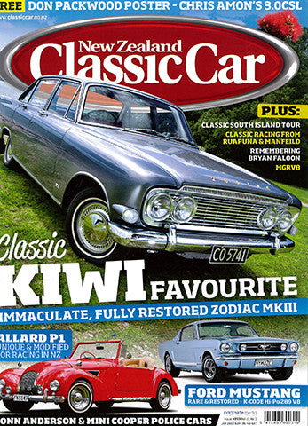 New Zealand Classic Car 253, January 2012