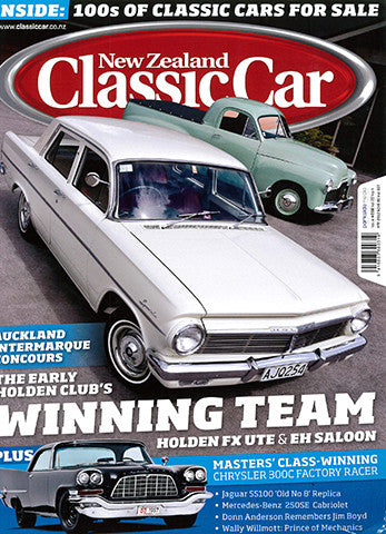 New Zealand Classic Car 256, April 2012