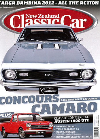 New Zealand Classic Car 257, May 2012