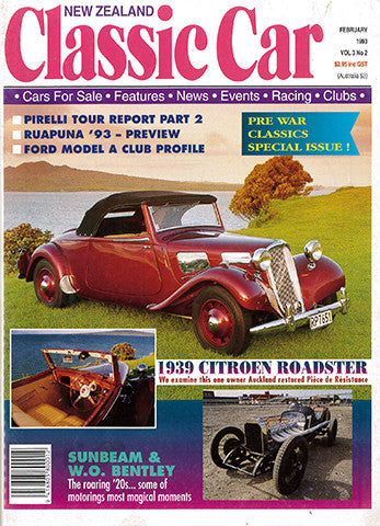 New Zealand Classic Car 26, February 1993