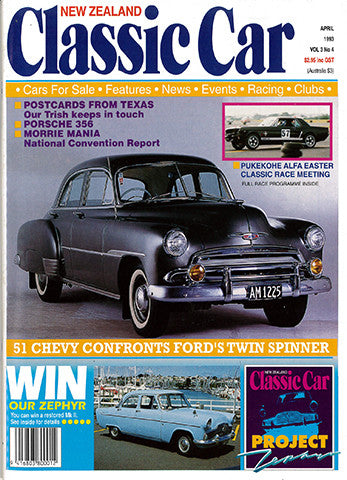 New Zealand Classic Car 28, April 1993