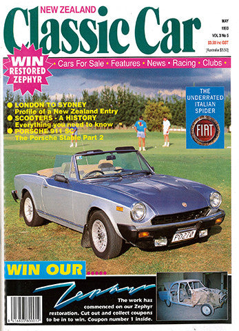 New Zealand Classic Car 29, May 1993
