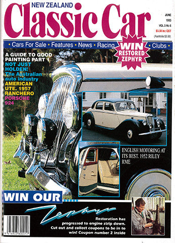 New Zealand Classic Car 30, June 1993