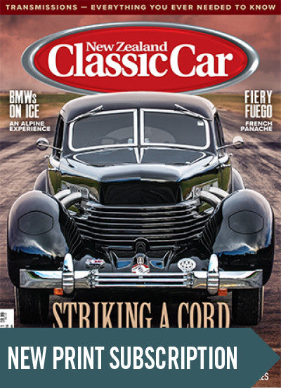 New subscription to New Zealand Classic Car magazine Big Boys Toys Real Steal