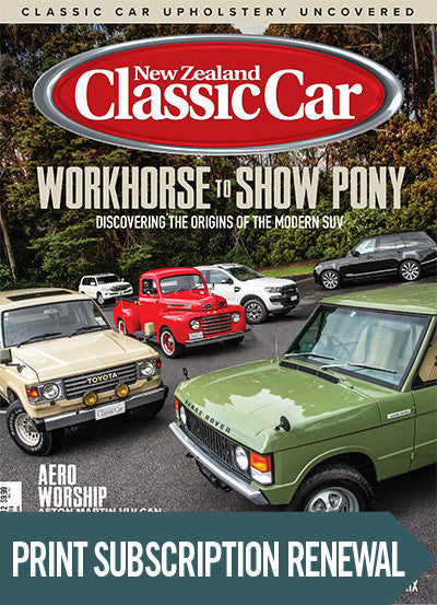Subscription renewal to New Zealand Classic Car magazine Real Steal