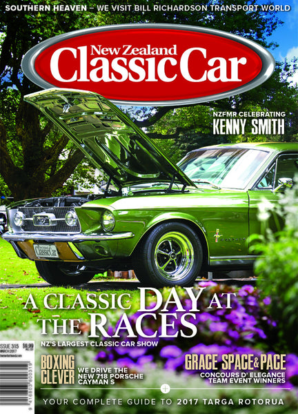 New Zealand Classic Car 315, March 2017
